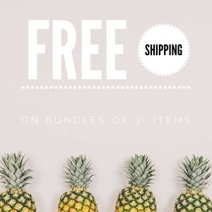Free Shipping for Bundles of 3+ Items!
